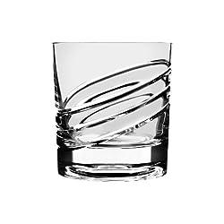 Shtox Innovative Sensational Rotating German Made Crystal Whisky Tumbler Glass 320ml (Pw11P)
