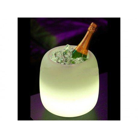 Seau à champagne lumineux Mimmo à LED Imagilights