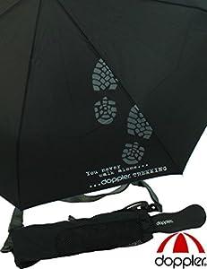 Schirm Partner- Taschenschirm Golf Trekking XXL schwarz