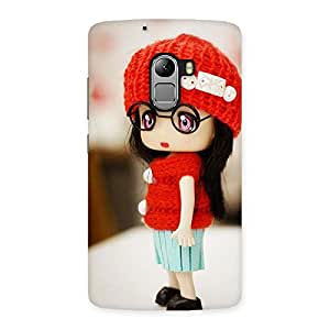Enticing Cute Little Angel Multicolor Back Case Cover for Lenovo K4 Note