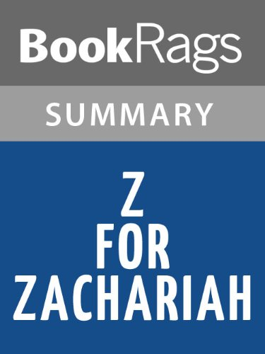 Z For Zachariah Essay