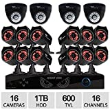 Night Owl 16 Channel 16 Camera 1TB Security System