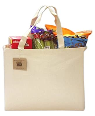 ECOBAGS® - Recycled Cotton Tote, Natural from ECOBAGS