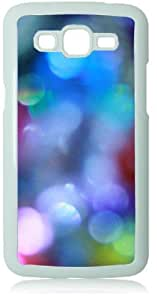 Light Sparkle White Back Cover Case for Samsung Galaxy Grand 2 G7106