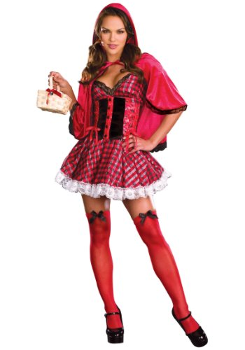 Dreamgirl Women's Little Red Adult Costume