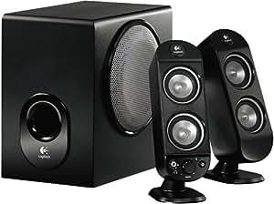 Logitech X-230 PC Lautsprechersystem 2.1 32 Watt RMS