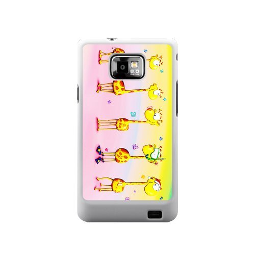 #!  Giraffe Animal Giraffes Samsung Galaxy S2 I9100 Case Cover Best Case(Not Fit T-mobile and Sprint Version)