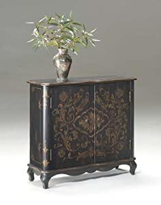 Butler Console Chest - European Black