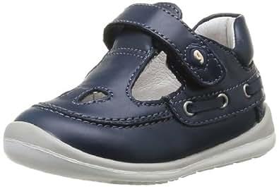 Garvalin 142331, Chaussures premiers pas bébé garçon - Bleu (A Azul Marino/Napa), 22 EU (5 UK)