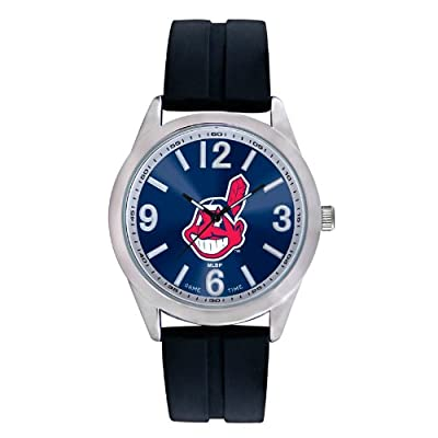 "Game Time Men's MLB-VAR-CLE ""Varsity"" Watch - Cleveland Indians"