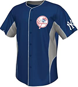 Buy Derek Jeter New York Yankees MLB Majestic Leader Jersey by Majestic