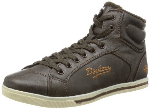 Dockers 326101-133020, Sneaker Donna, Marrone (Braun (cafe)), 38