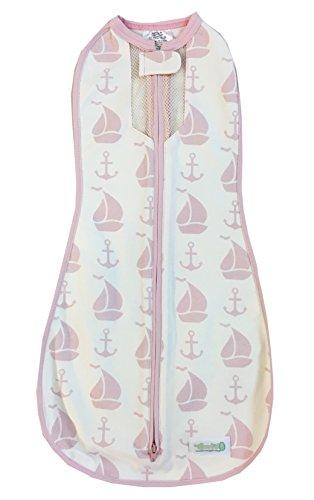 woombie air coastal pink kuscheliger pucksack aus bio. Black Bedroom Furniture Sets. Home Design Ideas