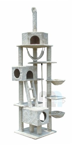 ZOOMUNDO CAT TREE SCRATCHING POST SCRATCH ACTIVITY CENTRE