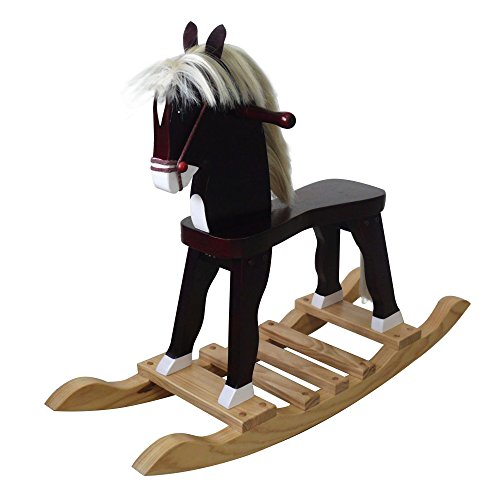 Teamson Kids - Windsor Derby Rocking Horse - 1