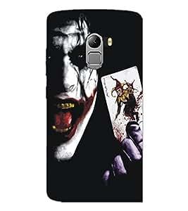 PrintDhaba Joker D-5349 Back Case Cover for LENOVO VIBE K4 NOTE (Multi-Coloured)