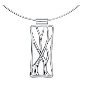 "Sterling Silver Vine Pendant, 16"" from amazon.com"