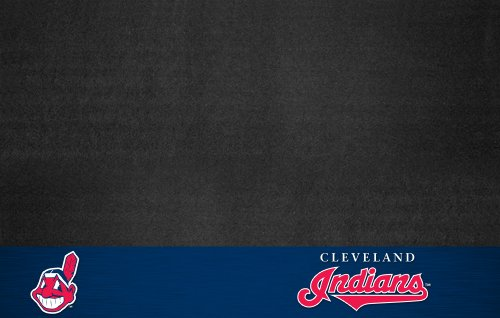 FANMATS MLB Cleveland Indians Vinyl Grill Mat at Amazon.com