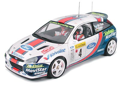 #24241 Tamiya Ford Focus RS WRC 01 1/24 Scale Plastic Model Kit,Needs assembly