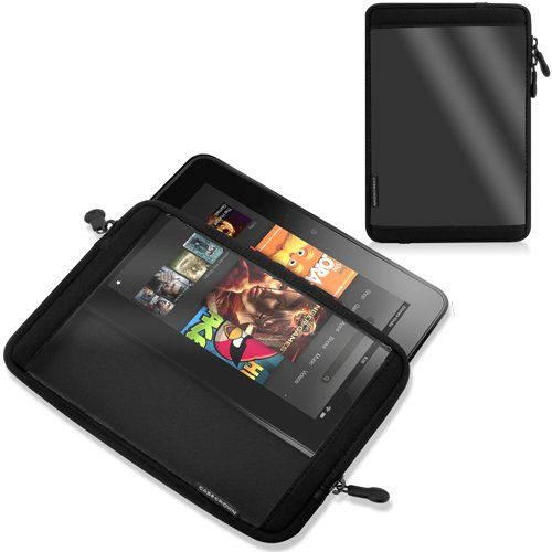 Casecrown Vinyl Screen Case For Kindle Fire Hd 7 Inch Tablet
