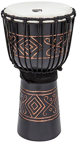 Toca TSSDJ-MBO Street Series 10-Inch Black Onyx Djembe, Medium