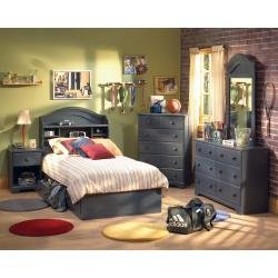 Cheap Kids Bedroom Furniture Set in Blueberry – South Shore Furniture – 3294-BSET (3294-BSET)