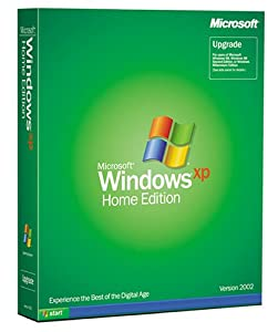 Microsoft Windows XP Home Edition Upgrade - Old Version