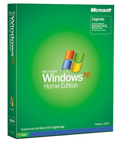 Microsoft Windows XP Home Edition Upgrade - Old