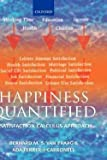 img - for Bernard Van Praag: Happiness Quantified : A Satisfaction Calculus Approach (Hardcover); 2004 Edition book / textbook / text book
