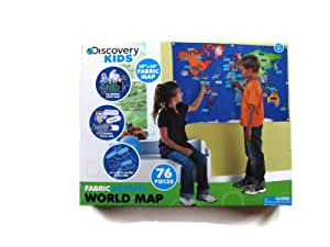 Discovery Kids Activity World Map