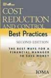 img - for Cost Reduction and Control Best Practices: The Best Ways for a Financial Manager to Save Money (Wiley Best Practices) book / textbook / text book