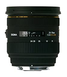 Sigma 24-70mm f/2.8 IF EX DG HSM AF Standard Zoom Lens for Sigma Digital SLR Cameras