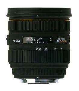 Sigma Objectif 24-70 mm F2,8 DG HSM EX - Monture Sigma