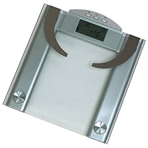 Amazon.com: HealthSmartTM Glass Electronic Body Fat/Weight ...