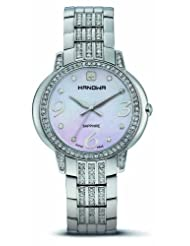 Hanowa Women's 16-7024.04.001 Starlight Mother-of-Pearl Swarovski Steel Watch