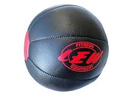 LEW Gym leather Medicine Ball-5kgs (Black)