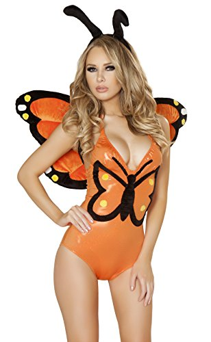 Monarch Butterfly Bodysuit Costume - LARGE