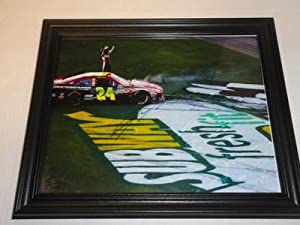 Autographed Jeff Gordon Photograph - Framed 11x14 Legend Daytona 500 Champion -... by Sports Memorabilia