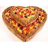 全国通販チョコレート ウェデイングケーキ冷凍バースデーケーキ 【8号 24cm バースデーケーキ 誕生日ケーキ デコ】::146