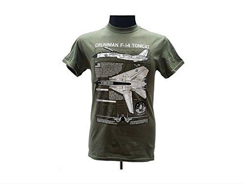 grumman-f-14-tomcat-jet-modern-warfare-t-militaire-pour-homme-avec-design-blueprint-vert-moyen