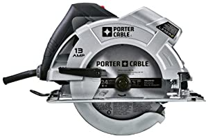 PORTER-CABLE PC13CSL 7-1/4-Inch Circular Saw with Laser-Guide by PORTER-CABLE