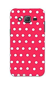 MiiCreations 3D Printed Back Cover for Samsung Galaxy J2,Pattern