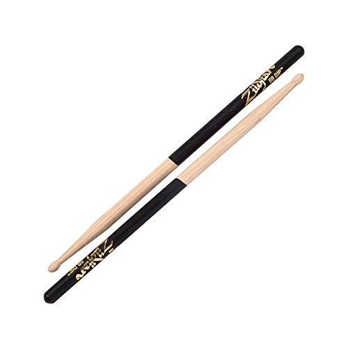 zildjian-5b-wood-black-dip-drumsticks