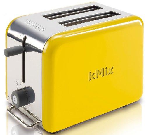 Yellow Small Kitchen Appliances: DeLonghi Kmix 2-Slice Toaster, Yellow