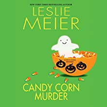 Candy Corn Murder: A Lucy Stone Mystery (       UNABRIDGED) by Leslie Meier Narrated by Lisa Larson