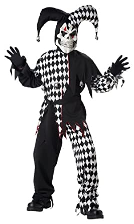 California Costumes Toys Evil Jester, Large