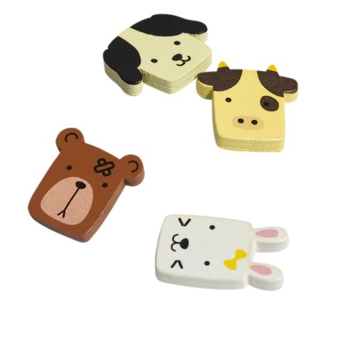 [Lovely Animals-1] - Refrigerator Magnets / Animal Magnets front-500144