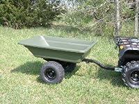 Swisher 16 Cubic Feet Atv Poly Dump Cart...