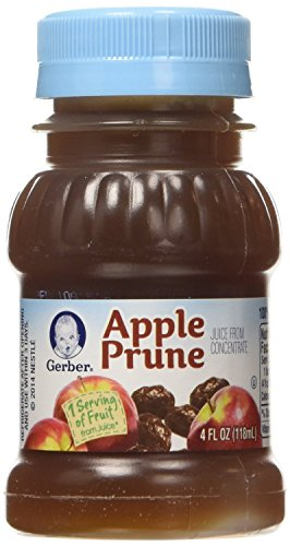 Gerber Juice - Apple Prune - 4 fl oz - 8 pack (Baby Apple Juice compare prices)