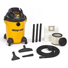 Shop-Vac 9651000 4.0-Peak HP Pro Series Wet or Dry Vacuum, 10-Gallon